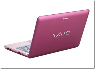 VAIO W_Pink_Back_Right