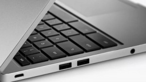 The New Chromebook Pixel with 2 USB Type-C ports