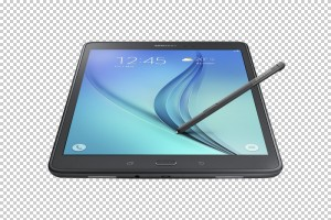 Front of the tablet