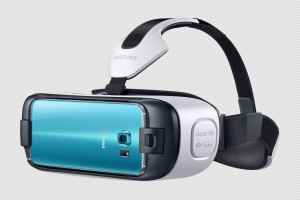 Gear VR with S6 attached in front