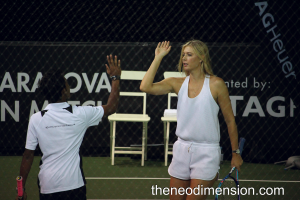 Sharapova and SEA game player