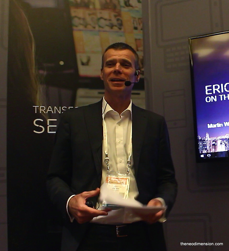 Martin Wiktorin, Country Head for Singapore & Brunei, Ericsson,