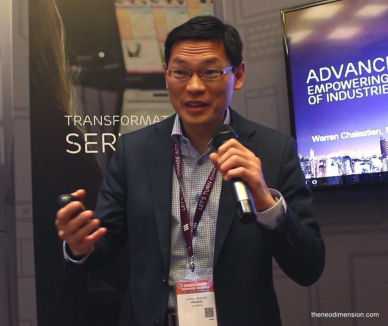 Warren Chaisatien, IoT Marketer, Strategist & Technology Evangelist, Ericsson