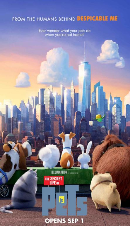 latest movies secret life of pets