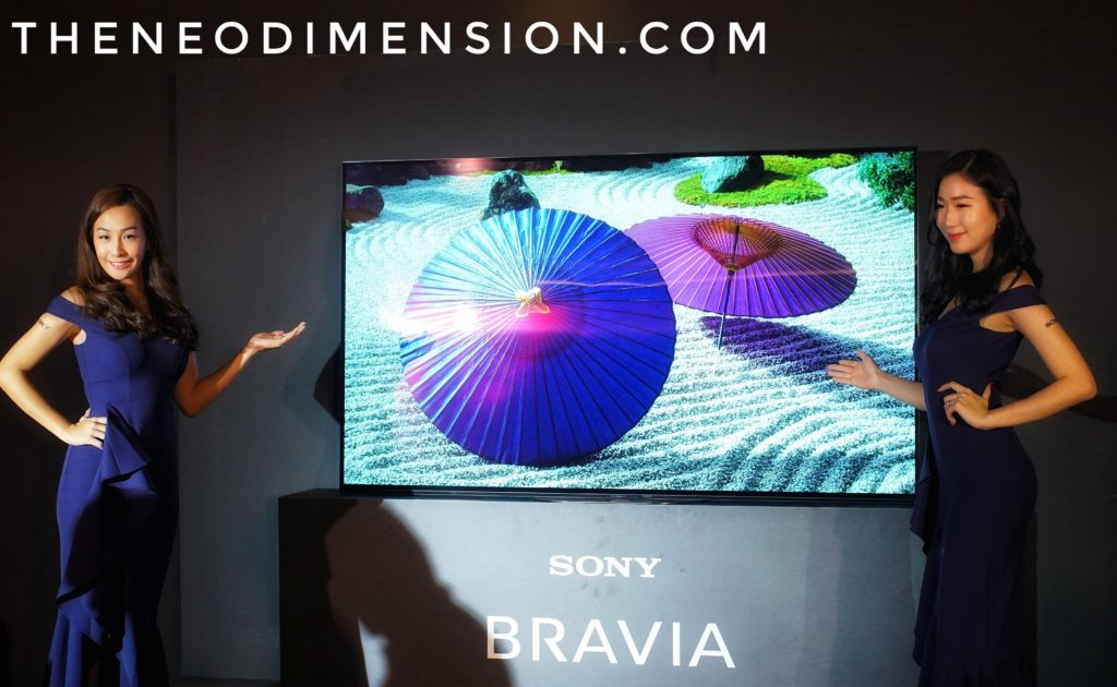 Sony Electronics Releases New MASTER A9G 4K OLED TV   The