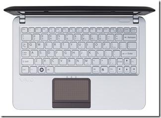 VAIO W_Brown_Above_Keyboard
