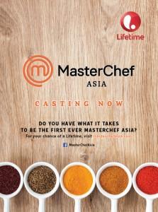 [Poster] MasterChef Asia Casting