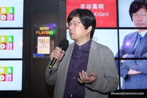 Takaaki Kidani elaborated on his vision for the event