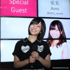 Aimi is one of the special guests attending the Chara Expo 2015
