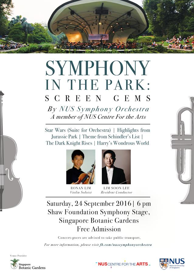 NUS Symphony In The Park